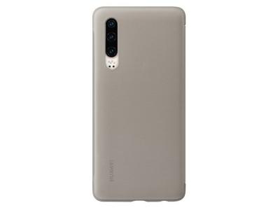 Оригинален Калъф Тефтер S-View Case Huawei P30 Кафяв