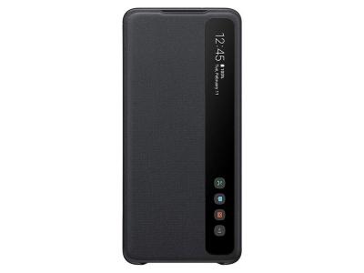 Оригинален Калъф S-View за Samsung Galaxy S20 Plus, Черен