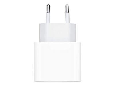 Оригинално Зарядно Iphone MHJ83ZM/A USB-C 20W Power Adapter white blister