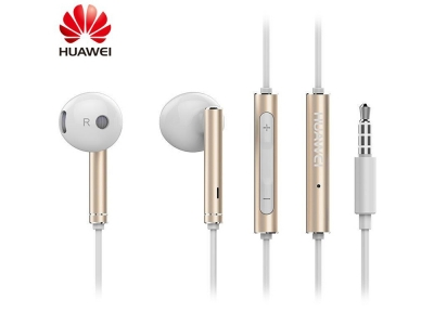 Слушалки с микрофон Huawei AM116 3.5mm, Златист (bulk)