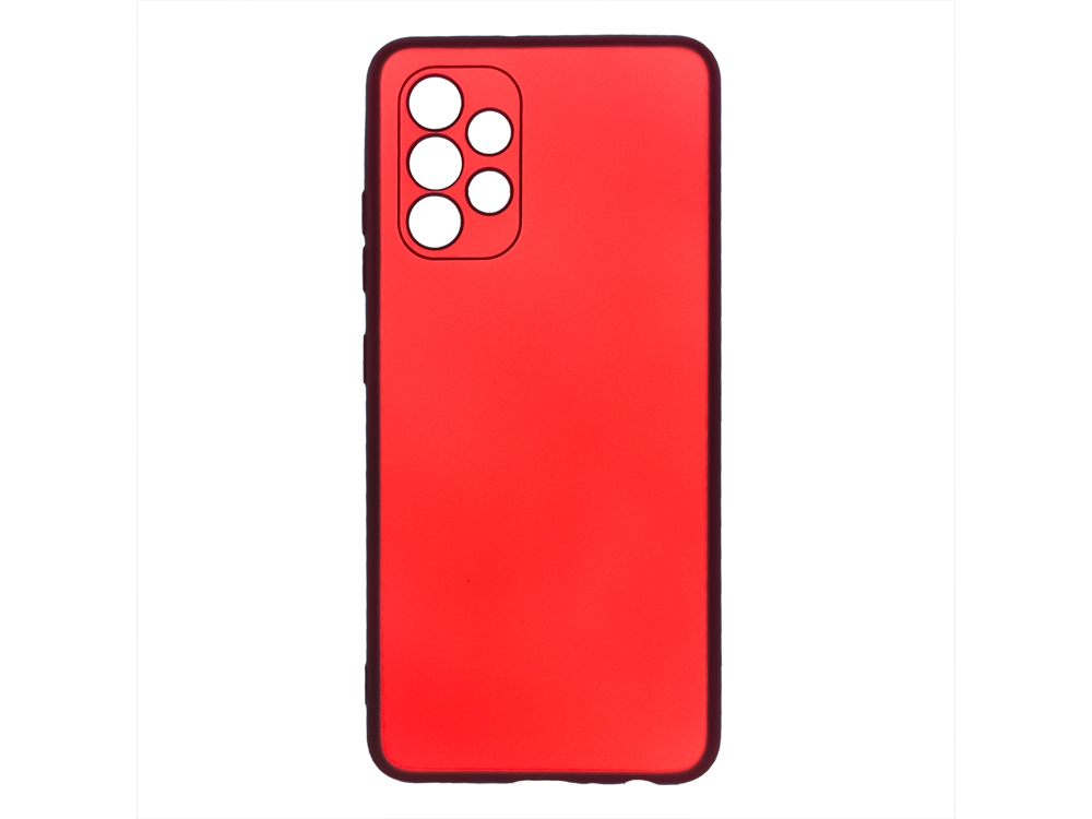 Силиконов калъф Level за Samsung Galaxy A32 4G LTE, Червен