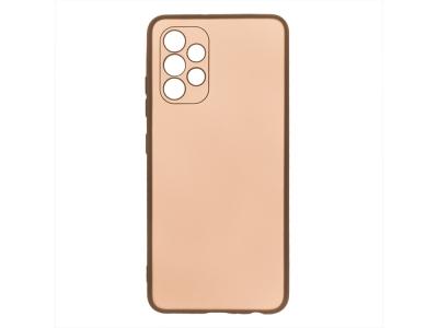 Силиконов калъф Level за Samsung Galaxy A72 , Златист