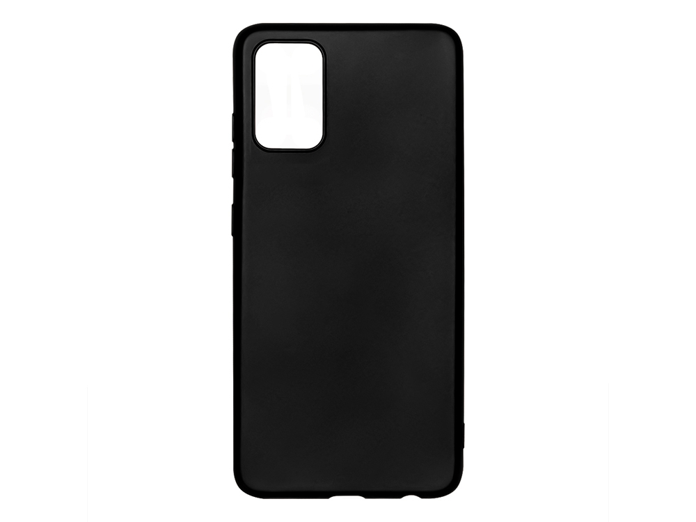 Силиконов калъф Level за Samsung Galaxy A02S, Черен