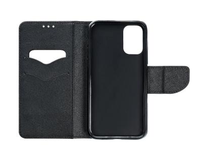 Калъф тефтер Fancy Book за Xiaomi Redmi Note 10 Pro, Черен
