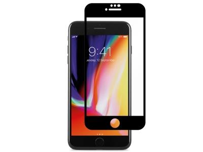 Стъклен Протектор 9D Full за iPhone 7 / 8 / SE2, Черен