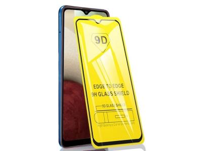 Стъклен Протектор 9D Full за Samsung Galaxy A12 / A32 5G, Черен