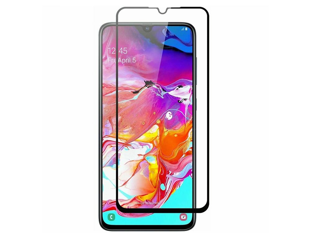 Стъклен Протектор 9D Full за Samsung Galaxy A20e, Черен