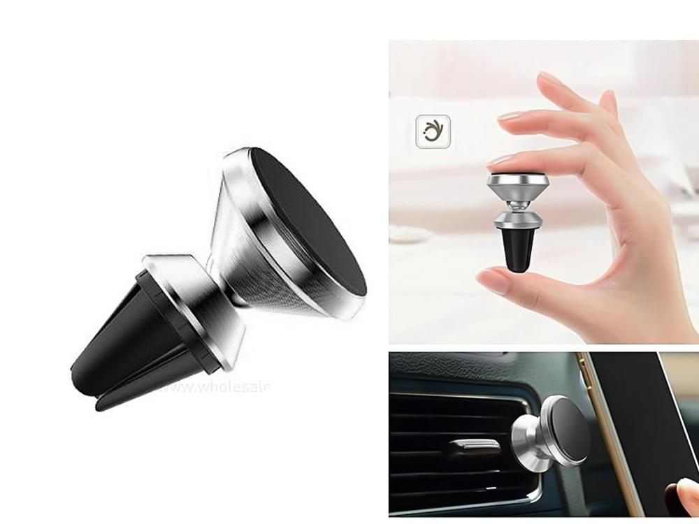 Поставка за кола Magnetic to air vent , Сребрист