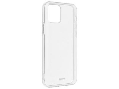 Силиконов калъф Jelly Roar за iPhone 12 / 12 Pro, Прозрачен