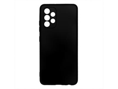 Силиконов калъф Matte за Samsung Galaxy A32 4G LTE, Черен