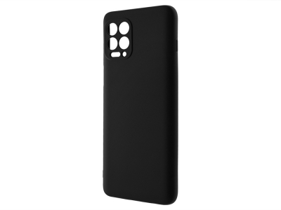 Силиконов калъф Matt за Motorola Moto G100 / Edge S, Черен