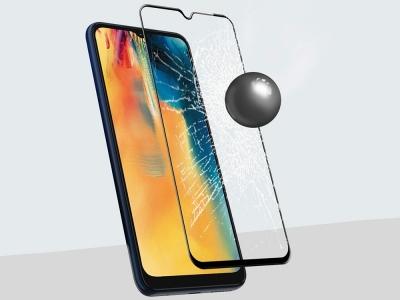 Стъклен Протектор Full Glue 10D за Motorola Moto G10 / G10 Power / G30, Черен