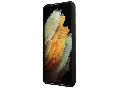 Оригинален Гръб Guess Vintage Cover за Samsung Galaxy S21, Черен