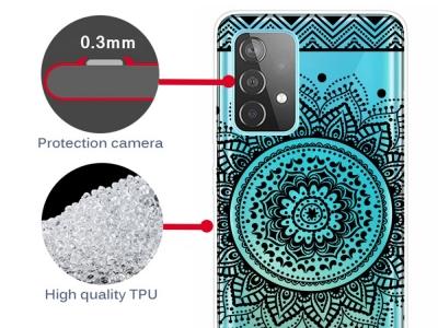 Силиконов калъф за Samsung Galaxy A72 4G/5G, Мандала