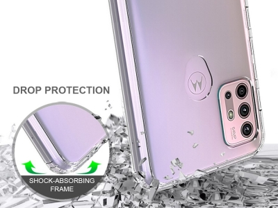Удароусотйчив Гръб Anti-drop за Motorola Moto G30 / G10, Прозрачен