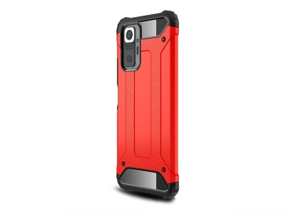 Удароустойчив калъф Armor за Xiaomi Redmi Note 10 Pro, Червен