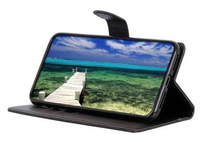 Калъф Тефтер Litchi Texture за Nokia G10/G20, Черен