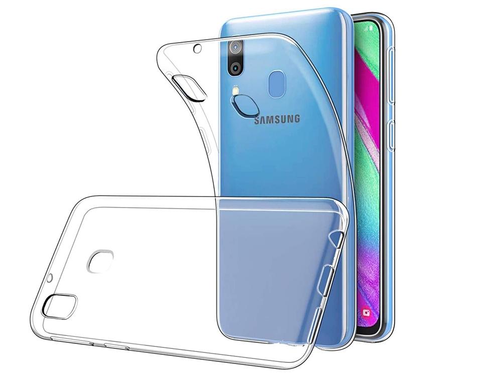 Силиконов калъф 0.5mm за Samsung Galaxy A40, Прозрачен