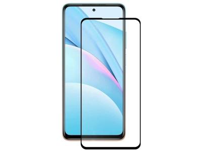 Стъклен Протектор 9D Full за Xiaomi Mi 10T Lite, Черен