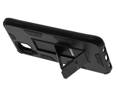 Удароустойчив калъф DEFENDER за Samsung Galaxy A12, Черен