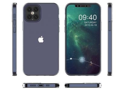 Силиконов калъф 2mm за iPhone 12 Pro Max, Прозрачен