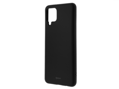 Силиконов калъф Roar за Samsung Galaxy A12, Черен