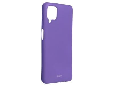 Силиконов калъф Roar за Samsung Galaxy A12, Лилав