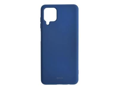 Силиконов калъф Roar Colorful за Samsung Galaxy A12, Тъмно син