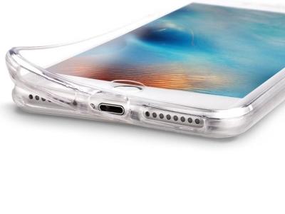 360 Силиконов калъф за iPhone 6 / 6s, Прозрачен