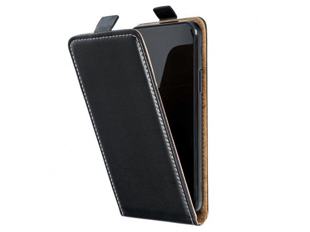 Калъф Тефтер Vertical за XIAOMI Redmi 9C, Черен