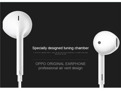 Слушалки с микрофон OPPO MH135 bulk, Бял