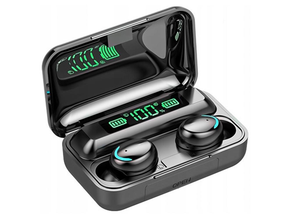 Безжични Слушалки TWS Bluetooth F9+ 5c, Черен