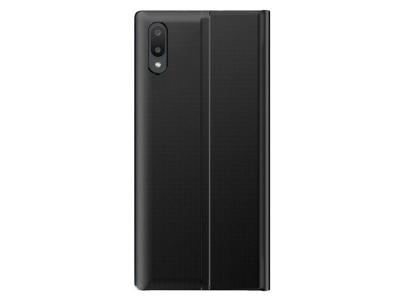 Калъф тефтер Auto-absorbed Folio Flip за Samsung Galaxy A02, Черен