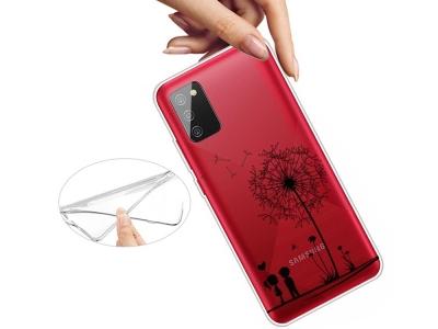 Силиконов калъф за Samsung Galaxy A02s, Глухарчета