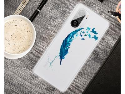 Силиконов калъф за  Xiaomi Redmi K40 Pro / Redmi K40 / Mi 11i / Poco F3, Перо
