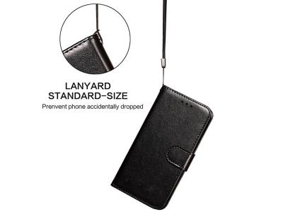 Калъф тефтер Wallet Leather за Xiaomi Mi 11 Lite 5G/4G, Черен