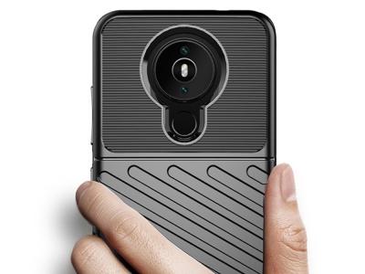 Силиконов Калъф Twill за Nokia 1.4, Черен