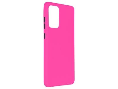 Силиконов калъф Solid за Samsung Galaxy A72 4G/5G, Розов