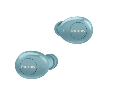 Слушалки Bluetooth Philips TWS TAT2205BL, Син