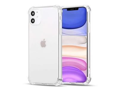 Силиконов калъф Drop Resistant за iPhone 12, Прозрачен