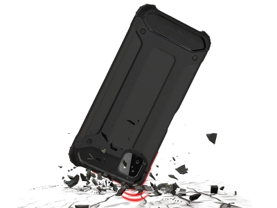 Удароустойчив калъф Armor за Samsung Galaxy A22 5G, Черен