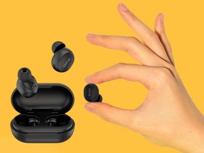 Слушалки TWS Wireless Earbuds QCY M10, Черен