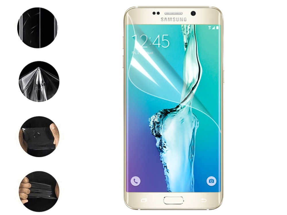 Хидрогел за Samsung Galaxy S6 Edge Plus (front full)