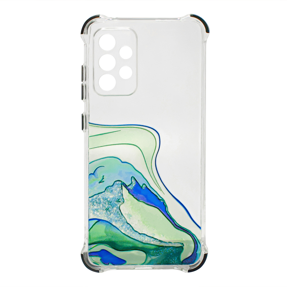 Силиконов калъф Anti-Drop Watercolor за Samsung Galaxy A52 5G / A52 4G - Design 3