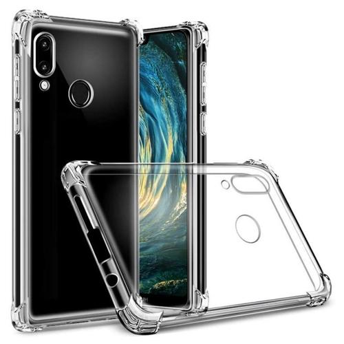 Силиконов калъф Drop Resistant за Huawei P20 Lite, Прозрачен