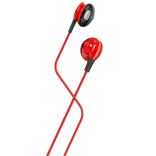 Слушалки с микрофон MP3 KAKU KSC-379, Червен