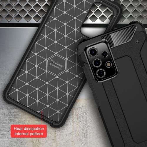 Удароустойчив калъф Armor за Samsung Galaxy A52 4G/5G, Черен