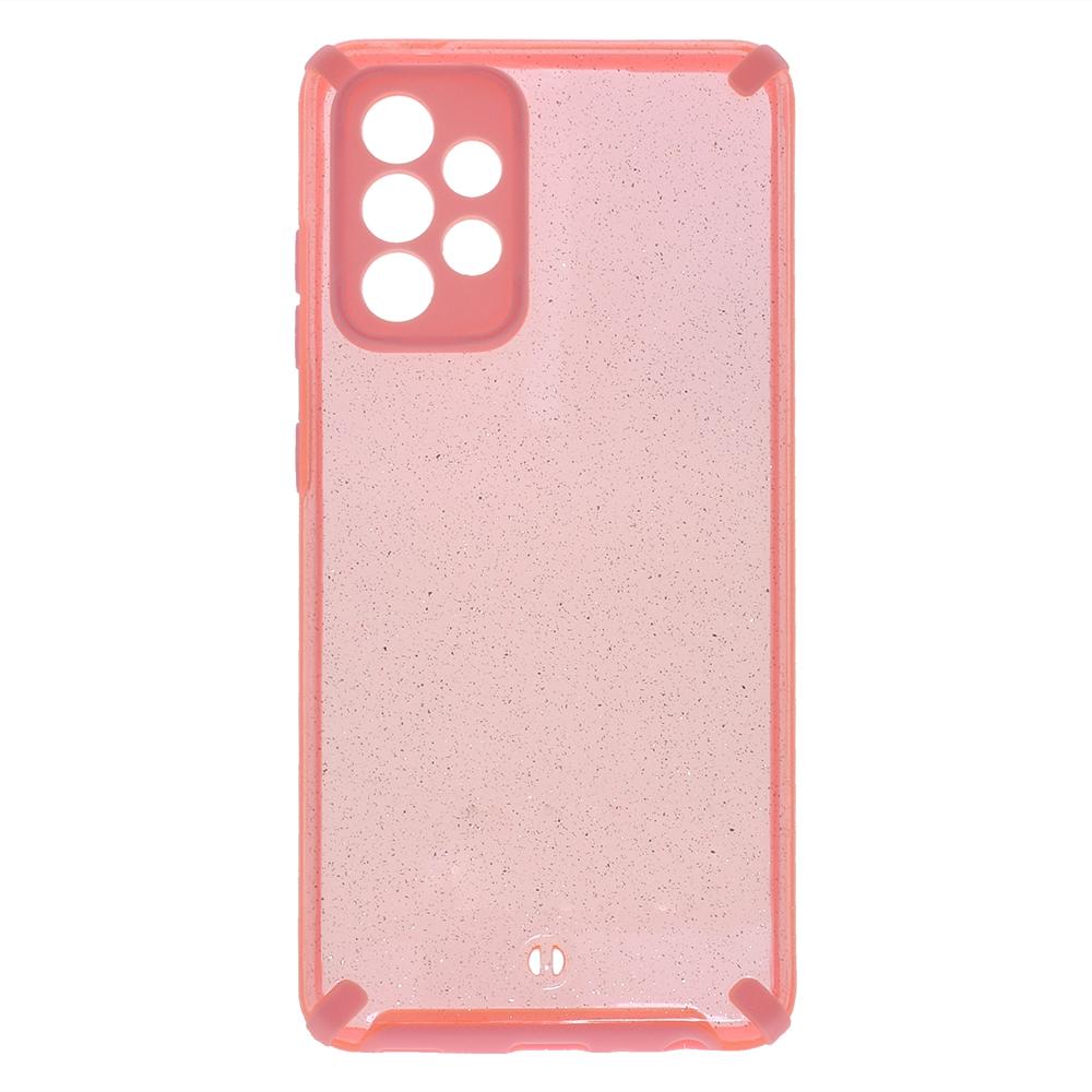 Удароустойчив калъф Armor Glitter за Samsung Galaxy A52 4G/5G, Розов