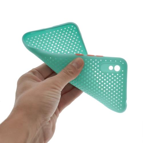 Силиконов калъф Breath Case за Xiaomi Redmi 9A, Мента