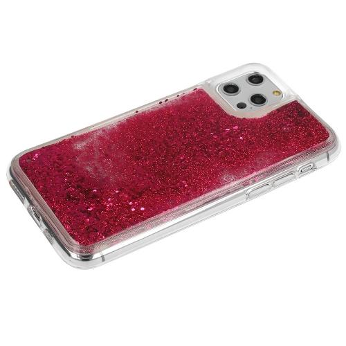 Удароустойчив калъф LIQUID за Iphone 12 Pro Max, Розов